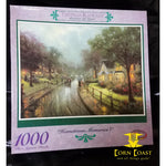 "Thomas Kinkade Painter of Light ""hometown memories 1"" 1000 Piece Puzzle - Corn Coast Comics"
