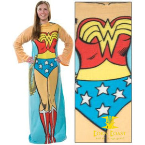 Wonder Woman Fleece Cozy - Corn Coast Comics