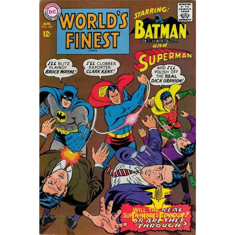 World's Finest Comics #168 FN - Back Issues