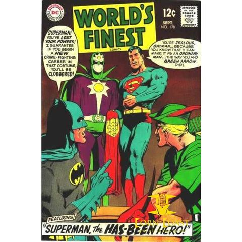 World's Finest Comics #178 VG - Back Issues