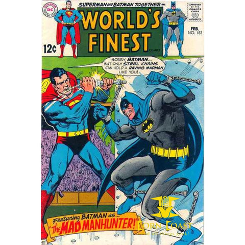 World's Finest Comics #182 VG - Back Issues