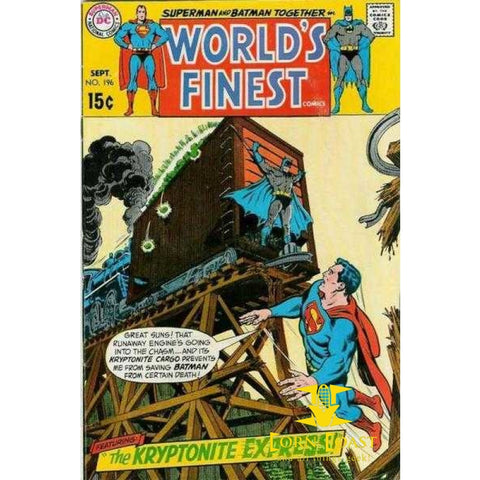 World's Finest Comics #196 GD - Back Issues