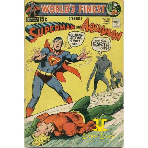 World's Finest Comics #203 VF - Back Issues