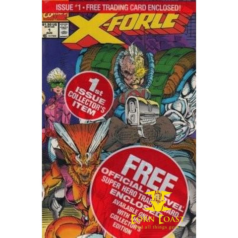 X-Force #1 Bagged with Card - New Comics