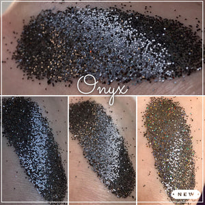 Onyx - Loose Glitter Eyeshadow