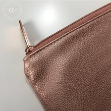 Rose Gold Pouch - Brush or Makeup bag