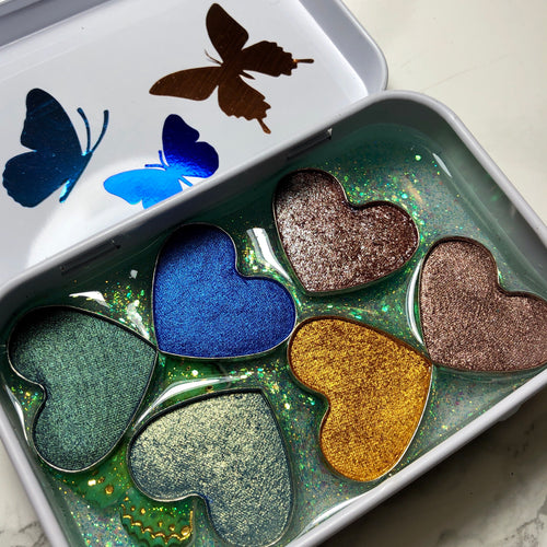 Butterfly Love Palette - 06 Eyeshadow Collection