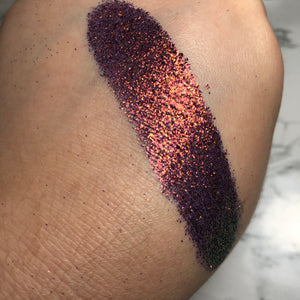 Treasure Map - Pressed Glitter
