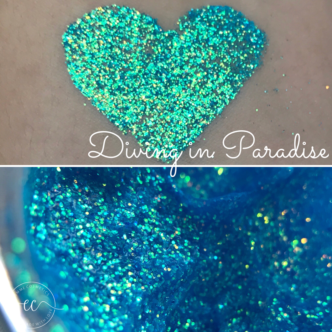 Diving in Paradise - Glitter Gel - 5gr Jar