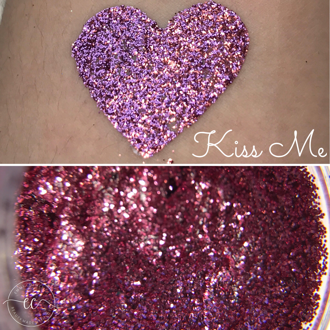 Kiss Me - Glitter Gel - 5gr Jar