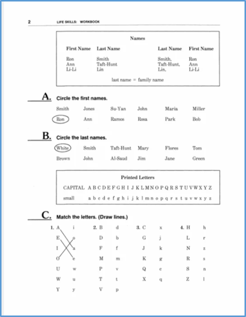 https://worklifeenglish.com/collections/know-the-alphabet/products/a-9-1-do-traditional-review-exercises