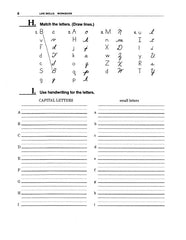 Reading - Writing Names and Letters Practice page, worklifeenglish.com
