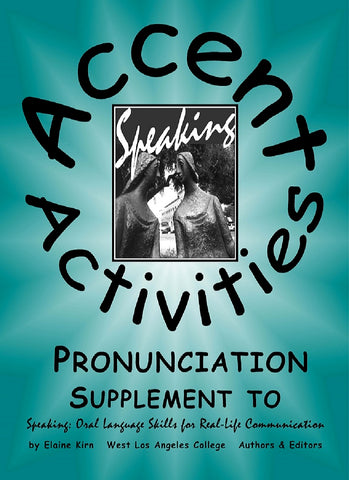 Pronunciation - Accent Activities and Practice Intermediate Literacy