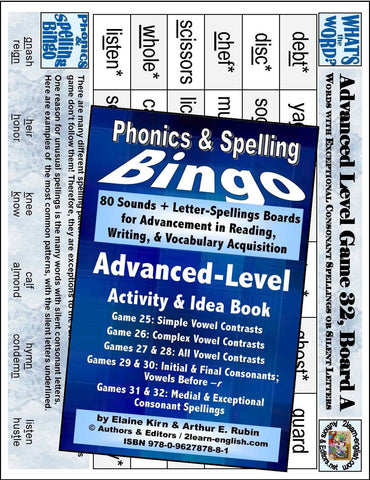 Pronunciation practice Consonant Games and Activities Advanced Level