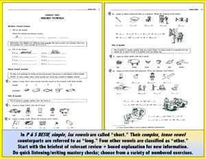 Spelling -Basic Workbook, <br/>two 90-Minute CDs or Download