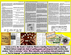 Spelling - Practical Workbook, <br/> More Patterns & Principles of English Spelling
