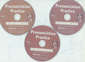 E. Beginners' Before Speaking with Pronunciation Principles: Audio - MP3 Downloads or CD's