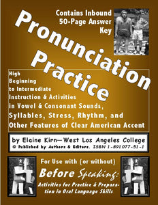 Before Speaking - A Pronunciation Practice Manual