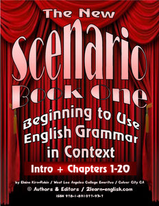 D-00.00 Scenario Book One: Beginning to Use English Grammar in Context