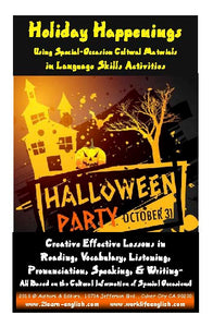 H. Holiday Happenings = Halloween<br/>Special-Occasion Language Material, It's Scary!