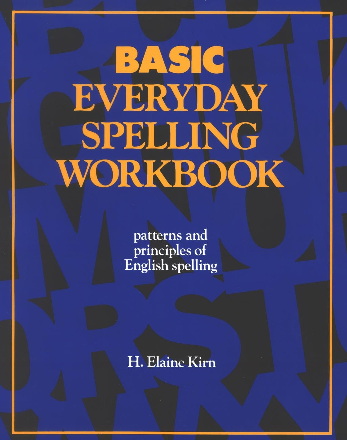 Spelling -Basic Workbook, two 90-Minute CDs or Download – Work Life ...