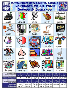 Phonics Bingo <br/> Level 3 = Intermediate + Activities & Ideas Book