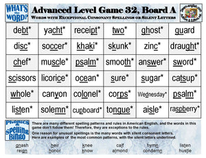 Phonics Bingo <br/> Level 4 = Advanced + Activities & Ideas Book