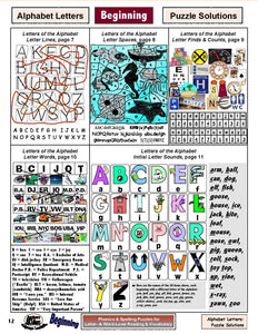 A-09.3 Do Alphabet Puzzles. Check Answers