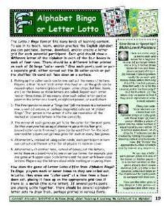 A-03.01: Learn about Alphabet Bingo or Letter Lotto