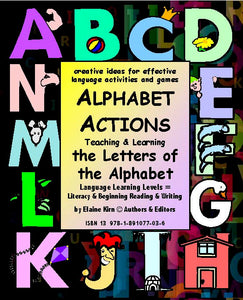 A-09.5 Get a Summary of Alphabet Teaching/Learning Ideas & Instructions