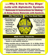 A-03.02: Learn Why & How to Play Bingo & Lotto with Alphabetic Symbols