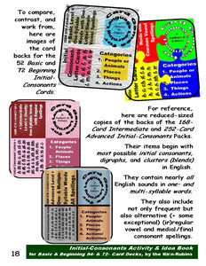 B-2.2 Get Reasoning and Instructions for Use of Initial-Consonant Cards, Basic & Beginning