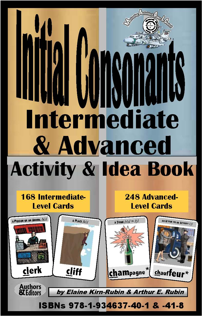 B-2.5 Get Rationale & Instructions Book for Initial-Consonants Cards - Intermediate & Advanced