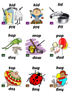 B-03.03 Get & Use Deck A of 52 Beginning Rhyming-Words Picture Cards