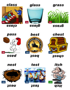 B-03.06 Get & Use Deck D of 52 Beginning Rhyming-Words Picture Cards