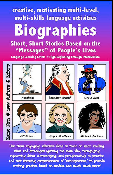 Biographies Small-Sized Starter Book (Original)