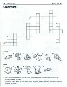 Vocabulary Puzzles: Picture This Too! 44 Reproducible Pages