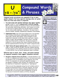 Learn & Teach Compound Words & Phrases <br/><br/> IDEA U of Phonics & Spelling: Everything To Know Now