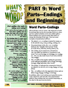C-06.02 Put Word Parts (Roots & Affixes) into a Classic Story