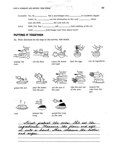 D-04.11 Compare & Practice Forms, Patterns, & Uses of Present-Time Verbs