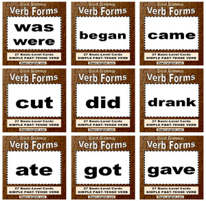 D-08.08 Get & Use a 54-Card Deck of Basic-Level, Base + Past-Form Verbs