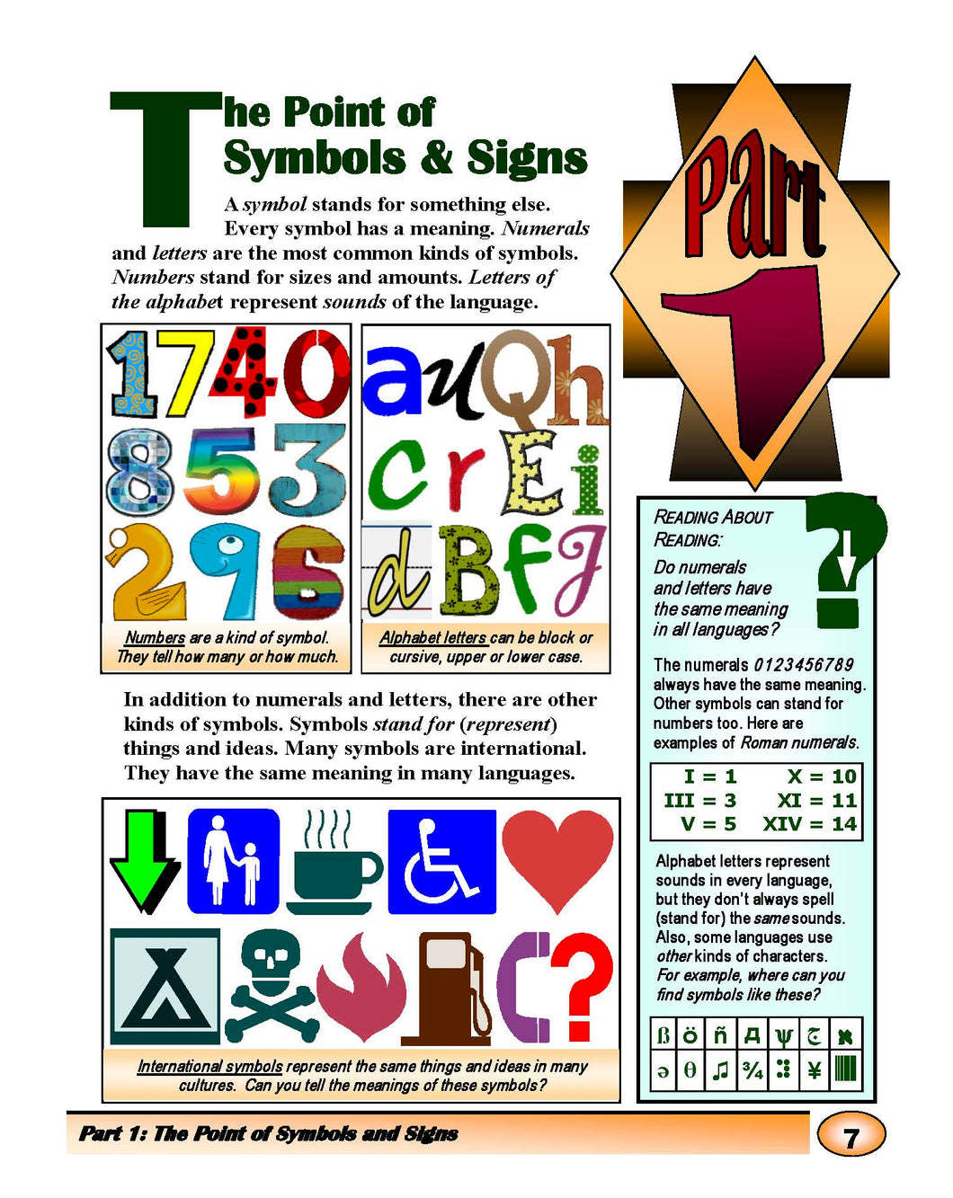 The Point of Symbols & Signs