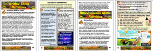 H. Holiday Happenings: Thanksgiving Teacher Resource Booklet