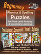 Spelling & Phonics Puzzles <br/> Level 2 = Beginning