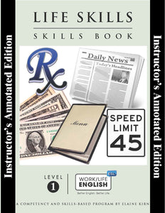 Life Skills Skills Book - Level 1- Teacher