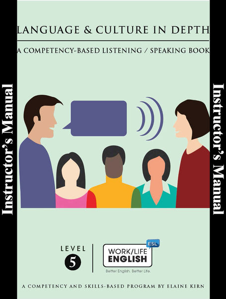 Listening / Speaking - <br/>Level 5 - Teacher