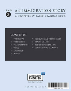 English in Everyday Life - Grammar Text - An Immigration Story - Level 3 of 6 - Student