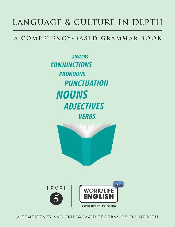 Grammar Text<br/>Work/Life English Level 5 (of 6) Student; 215-pages