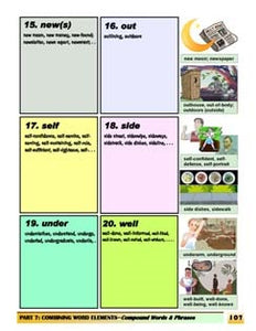 C-04.2 Create & Use 3 Kinds of Compound Words & Phrases