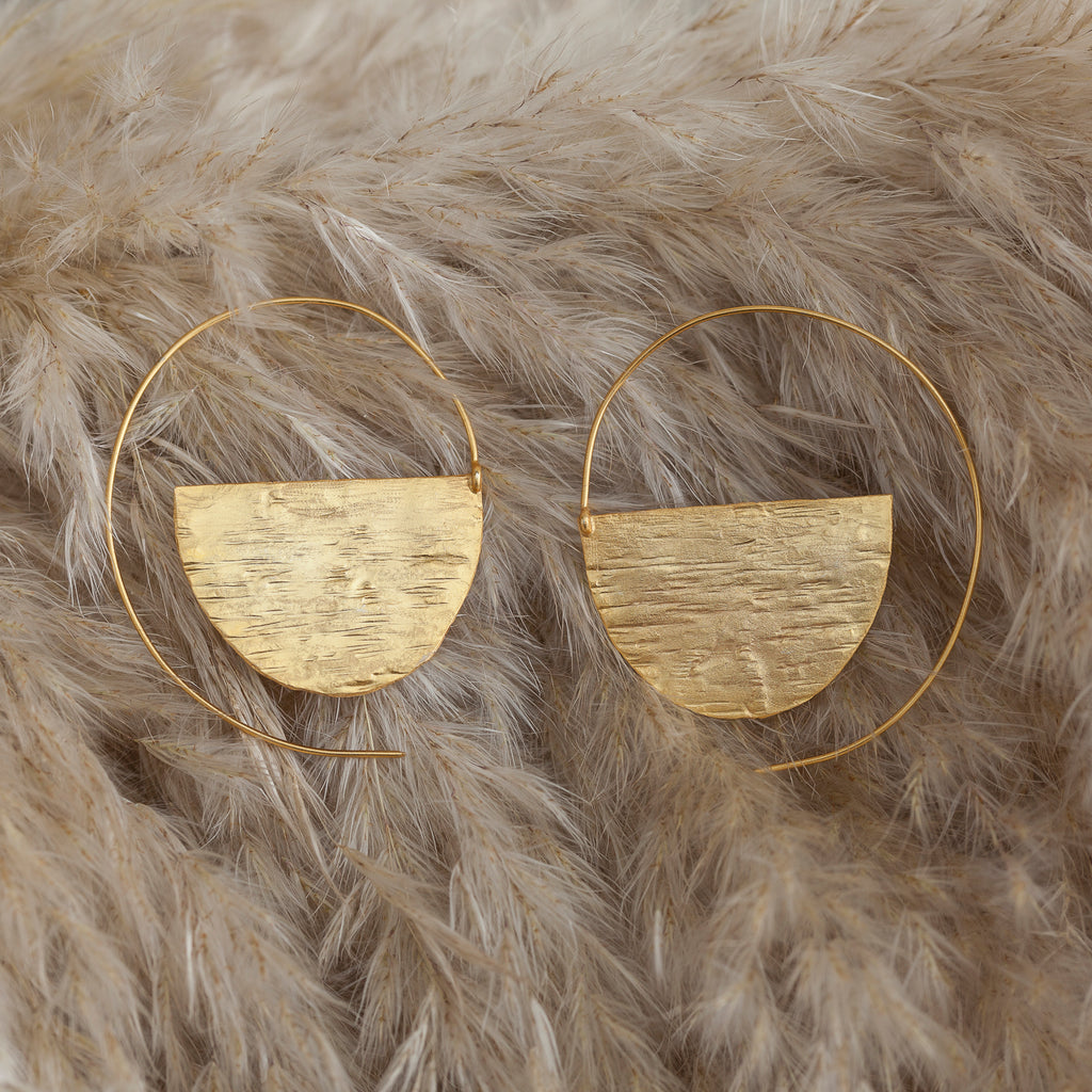 Round Ringed Earring